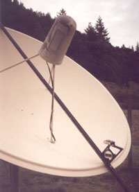 Precision Site and Satellite Finder with Dish Alignment Scale